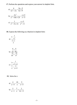 solve slope, graph, coordinates,x and y intercept,algebra equation, rational expression,simplify